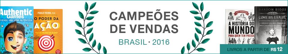 Campeões de vendas - Brasil 2016
