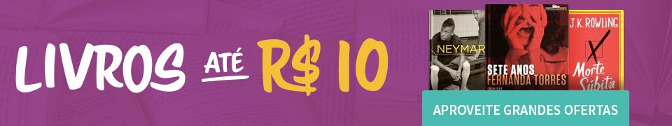 Livros até R$ 10